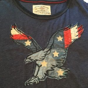 American Eagle Outfitters Shirts - American Eagle patriotic tee shirt